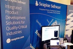 Look for Seapine at the conference.