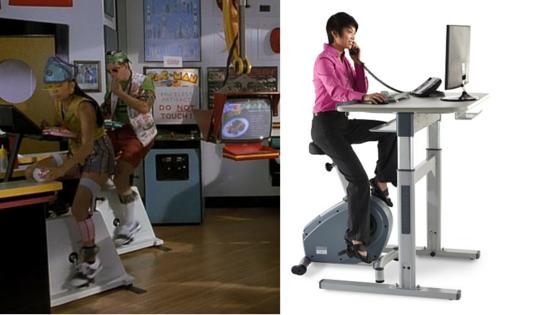 pedal desks