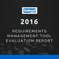 Seilevel rates TestTrack in Top 10 of requirements management tools.