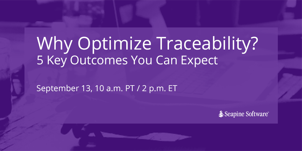 Why Optimize Traceability?