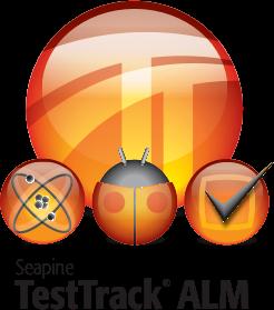 TestTrack ALM logo, 2009